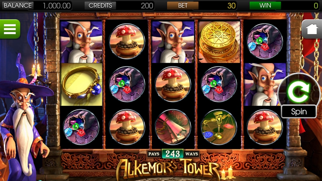 Play No Download Alkemors Tower Slot Machine Free Here