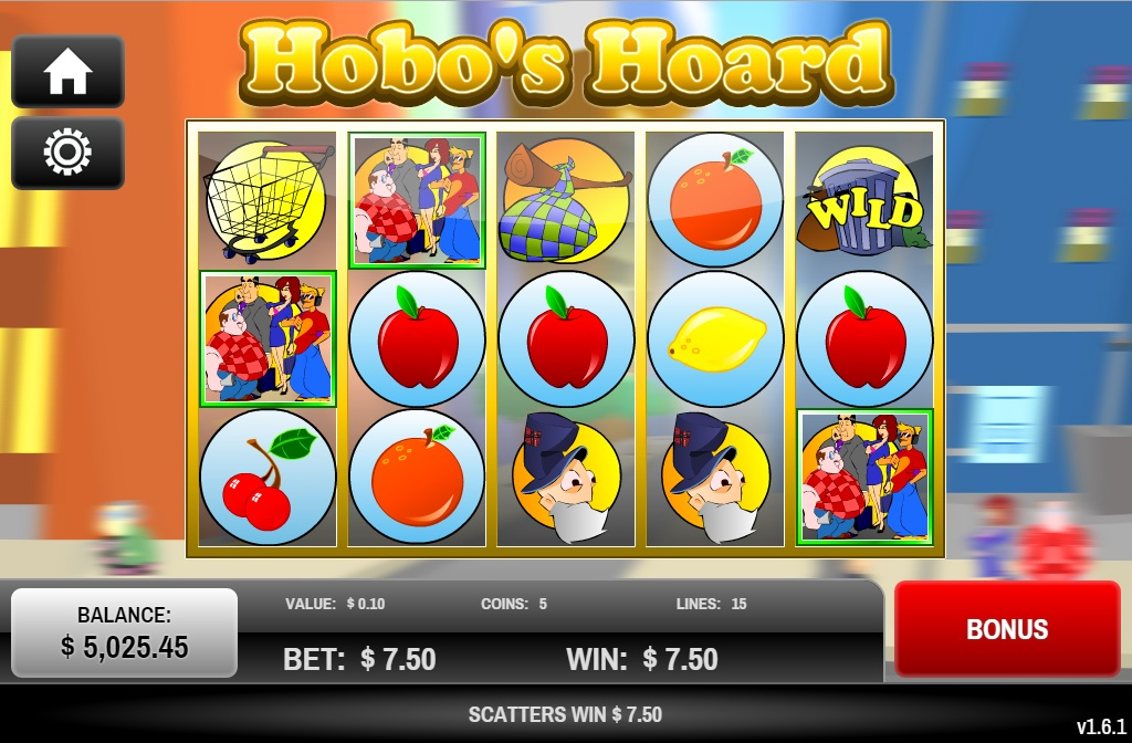 Play the Hobos Hoard Slots with No Download Today