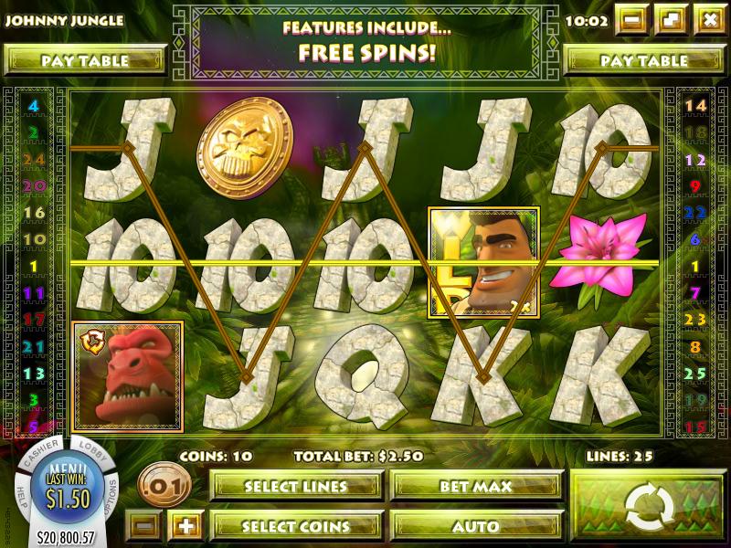 Spiele Johnny Jungle - Video Slots Online