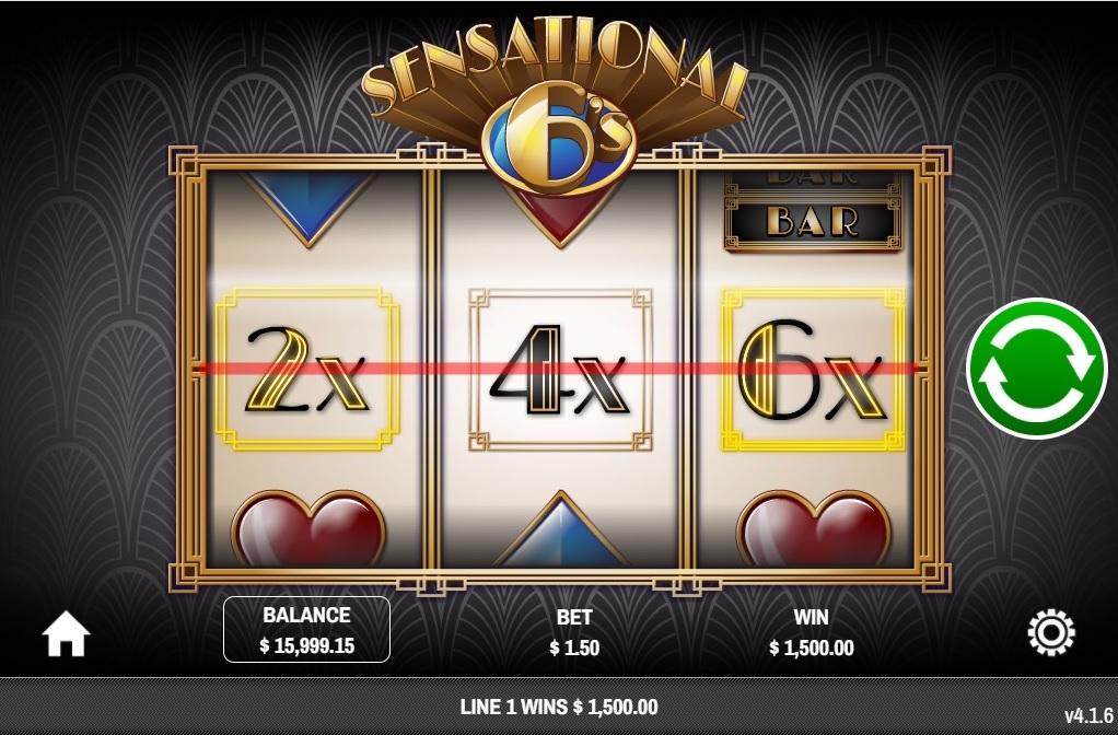 New Sensational Sixes Slot