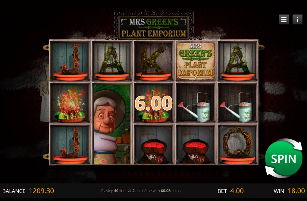 Spiele Mrs GreenS Plant Emporium - Video Slots Online