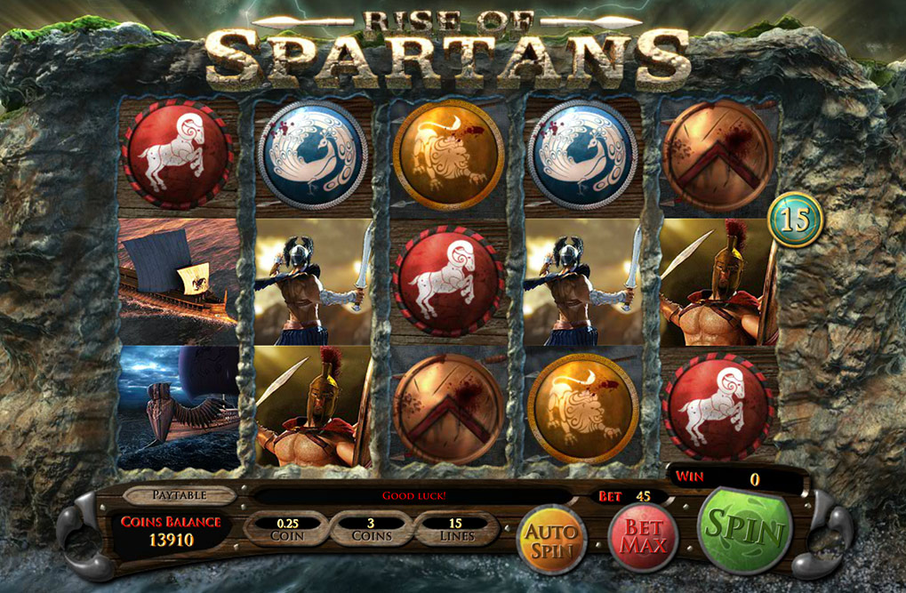 Spiele Rise Of Spartans - Video Slots Online
